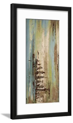 The Blue and Green Ones I-Patricia Pinto-Framed Art Print
