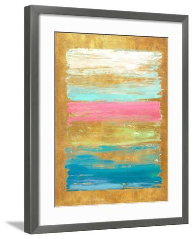 The Palette with Pink-Patricia Pinto-Framed Art Print