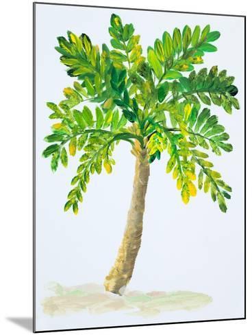 Palm Days IV-Julie DeRice-Mounted Art Print