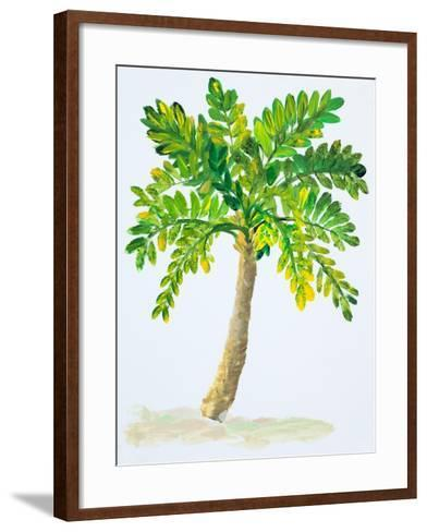 Palm Days IV-Julie DeRice-Framed Art Print