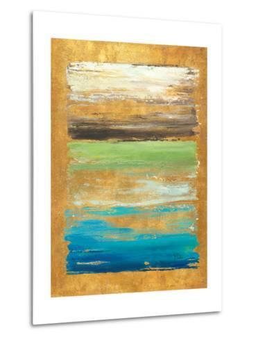 The Palette in Gold-Patricia Pinto-Metal Print