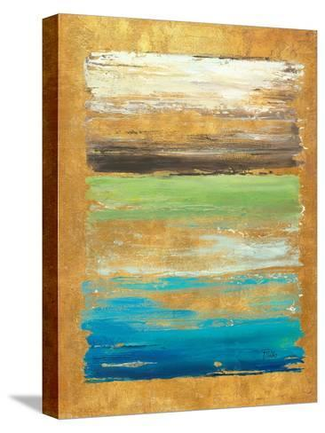 The Palette in Gold-Patricia Pinto-Stretched Canvas Print