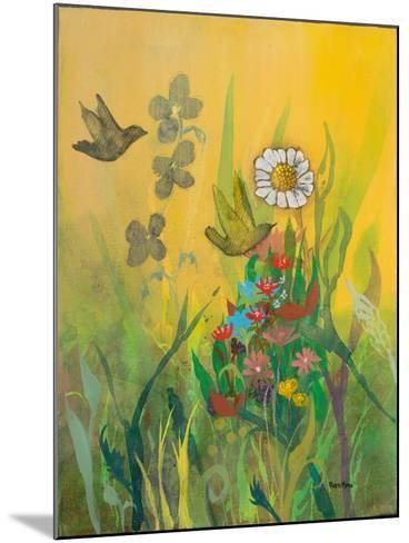 Waking Up with Sunshine-Robin Maria-Mounted Art Print