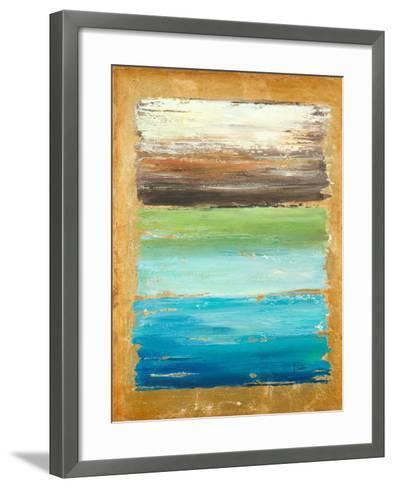 The Palette-Patricia Pinto-Framed Art Print
