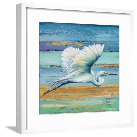 Great Egret I-Patricia Pinto-Framed Art Print
