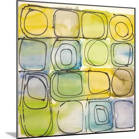 Circular Square II-Lanie Loreth-Mounted Art Print