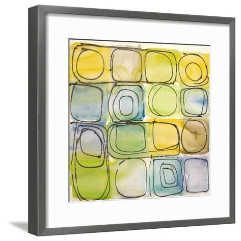 Circular Square II-Lanie Loreth-Framed Art Print