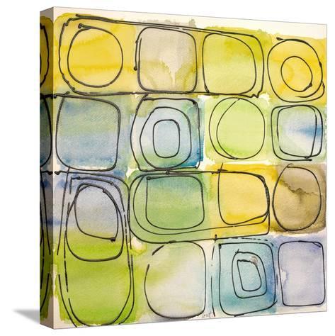 Circular Square II-Lanie Loreth-Stretched Canvas Print
