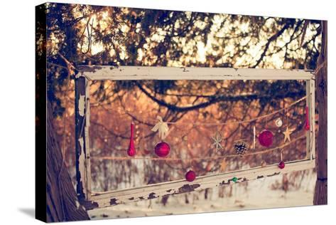 Merry and Bright-Kelly Poynter-Stretched Canvas Print