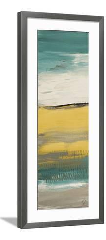 Flatlands Teal III-Lanie Loreth-Framed Art Print