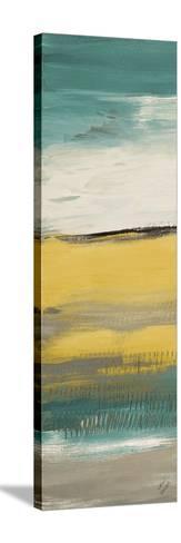 Flatlands Teal III-Lanie Loreth-Stretched Canvas Print