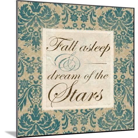 Fall Asleep and Dream of the Stars-Elizabeth Medley-Mounted Art Print