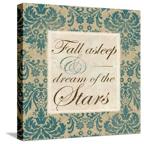 Fall Asleep and Dream of the Stars-Elizabeth Medley-Stretched Canvas Print