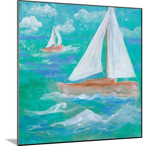 Regatta Winds III-Robin Maria-Mounted Art Print