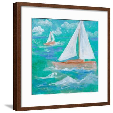 Regatta Winds III-Robin Maria-Framed Art Print