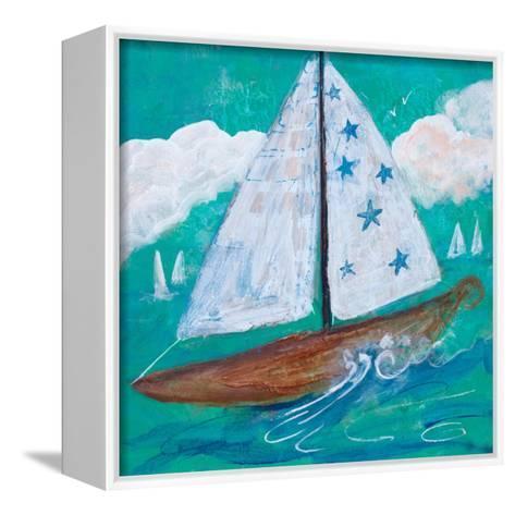 Regatta Winds IV-Robin Maria-Framed Canvas Print