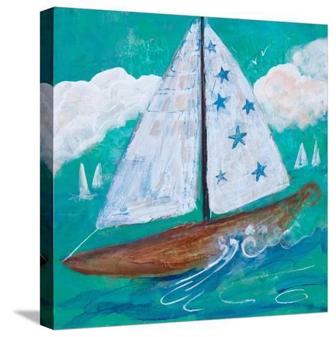 Regatta Winds IV-Robin Maria-Stretched Canvas Print