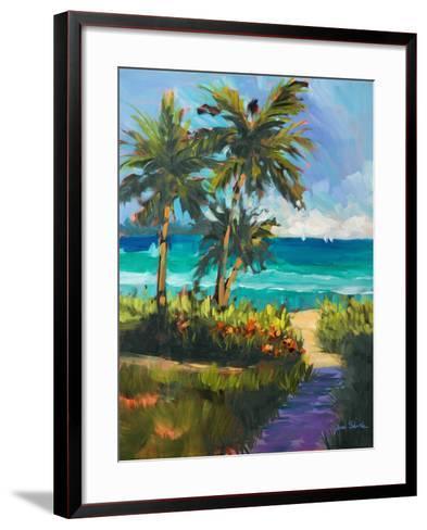 Caribbean View II-Jane Slivka-Framed Art Print