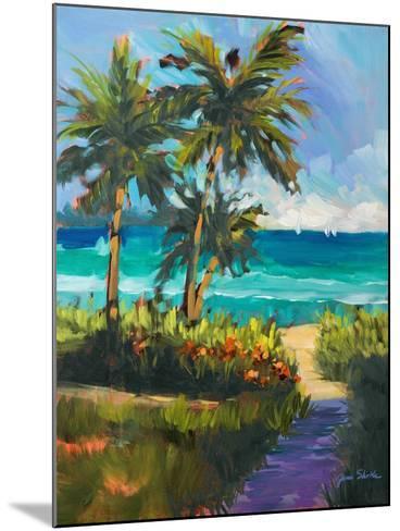 Caribbean View II-Jane Slivka-Mounted Premium Giclee Print