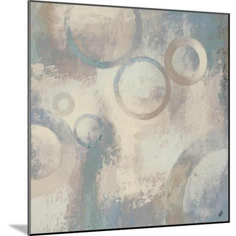 Muted Cobalt II-Michael Marcon-Mounted Premium Giclee Print