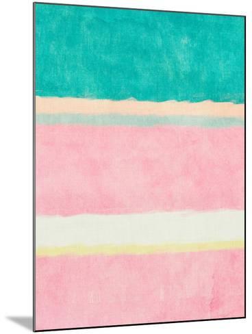 Rectangle Beach Blocks of Color II-SD Graphics Studio-Mounted Art Print