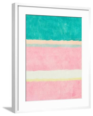 Rectangle Beach Blocks of Color II-SD Graphics Studio-Framed Art Print