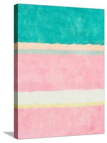 Rectangle Beach Blocks of Color II-SD Graphics Studio-Stretched Canvas Print