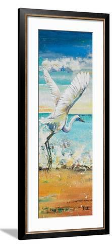 Great Egret Panel I-Patricia Pinto-Framed Art Print