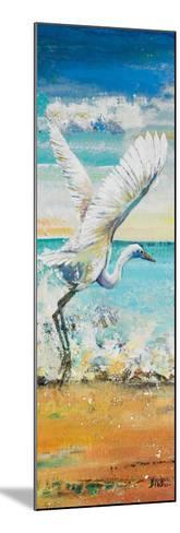 Great Egret Panel I-Patricia Pinto-Mounted Premium Giclee Print
