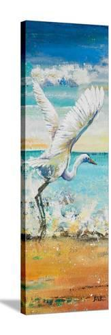 Great Egret Panel I-Patricia Pinto-Stretched Canvas Print
