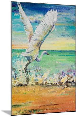 Great Egret I-Patricia Pinto-Mounted Art Print