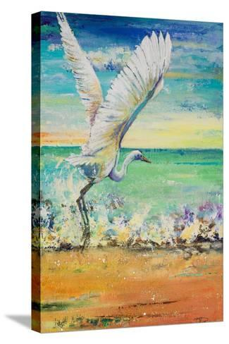 Great Egret I-Patricia Pinto-Stretched Canvas Print