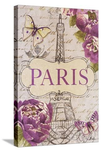 Beautiful Peonies in Paris-Patricia Pinto-Stretched Canvas Print