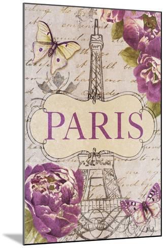 Beautiful Peonies in Paris-Patricia Pinto-Mounted Art Print
