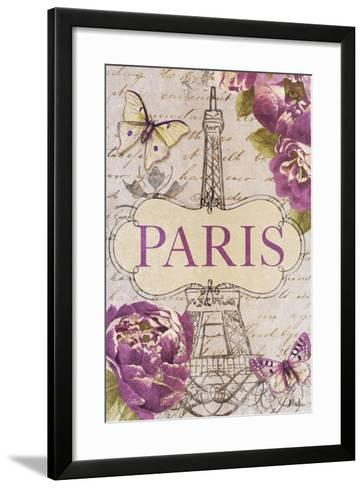 Beautiful Peonies in Paris-Patricia Pinto-Framed Art Print