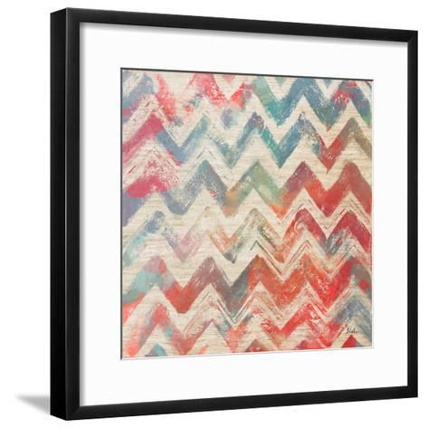 Bright Birch Chevron-Patricia Pinto-Framed Art Print