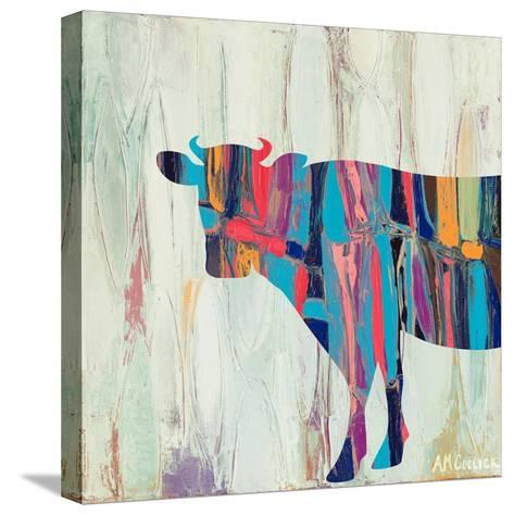 Rhizome Cow-Ann Marie Coolick-Stretched Canvas Print