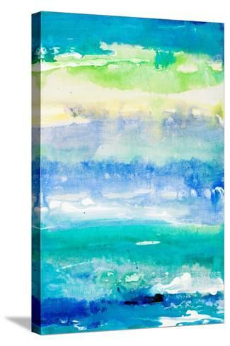 Sea Azure II-Lanie Loreth-Stretched Canvas Print