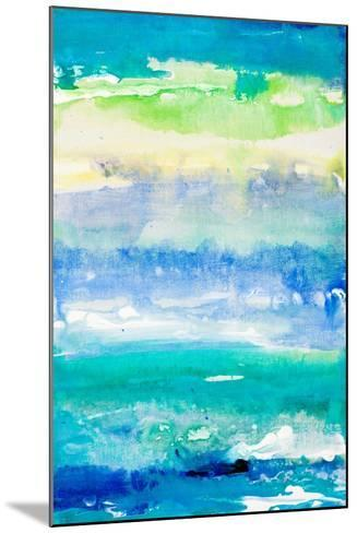 Sea Azure II-Lanie Loreth-Mounted Art Print
