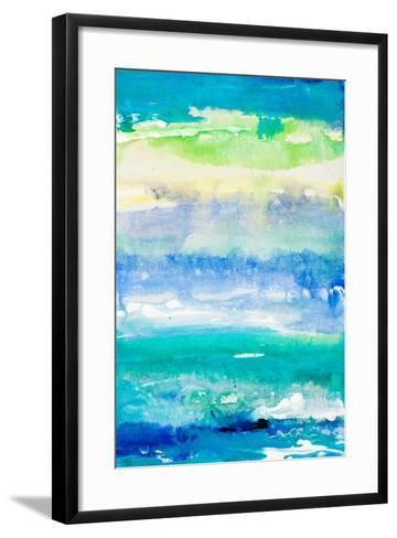 Sea Azure II-Lanie Loreth-Framed Art Print