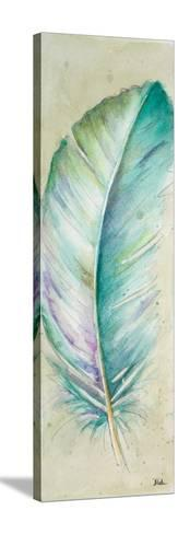 Watercolor Feather II-Patricia Pinto-Stretched Canvas Print