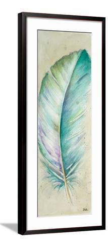 Watercolor Feather II-Patricia Pinto-Framed Art Print