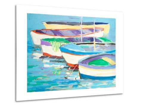 Row Your Boats-Jane Slivka-Metal Print