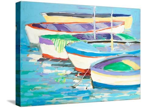 Row Your Boats-Jane Slivka-Stretched Canvas Print