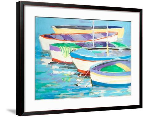 Row Your Boats-Jane Slivka-Framed Art Print