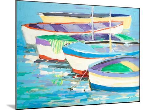 Row Your Boats-Jane Slivka-Mounted Art Print