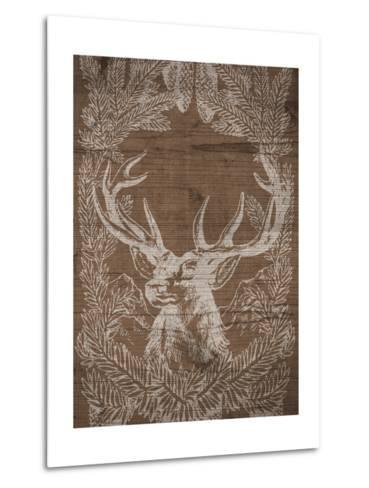 Holiday Deer-SD Graphics Studio-Metal Print