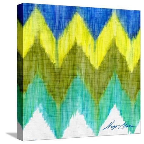 Brilliant Chevron II-Hugo Edwins-Stretched Canvas Print