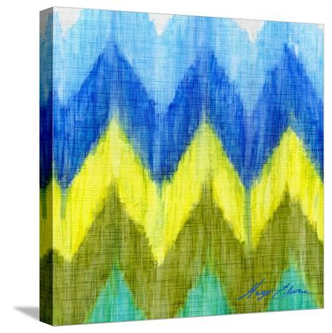 Brilliant Chevron I-Hugo Edwins-Stretched Canvas Print