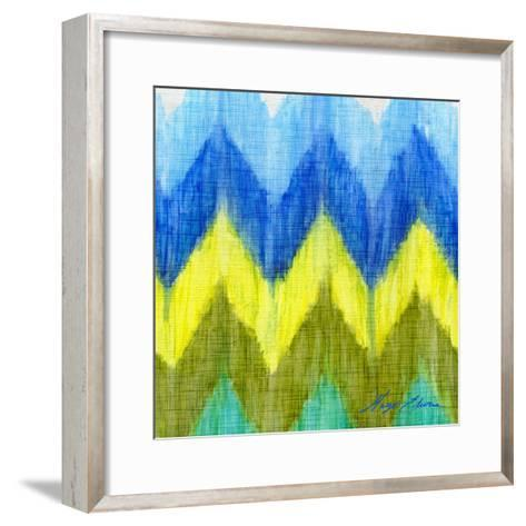 Brilliant Chevron I-Hugo Edwins-Framed Art Print